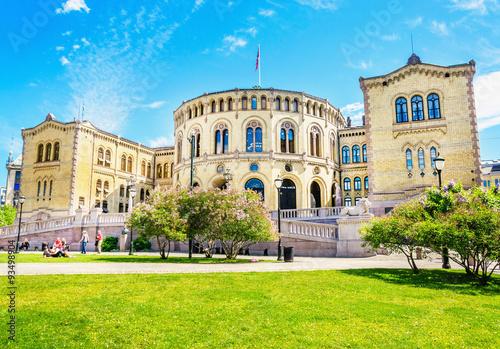 Photo  Storting Parliament supreme legislature of Norway