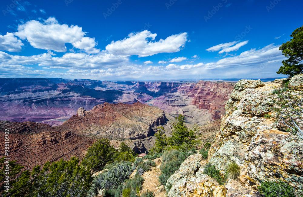 U.S.A., Arizona, the Grand Canyon South Rim