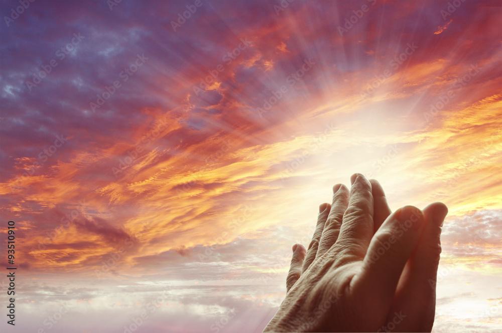 Fototapety, obrazy: Prayer