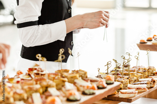 Stampa su Tela catering food