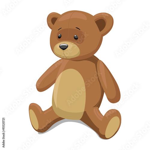 Fotografie, Obraz  Teddy bear vector illustration
