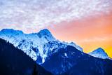 Fototapeta Fototapety z naturą - Winter sunset