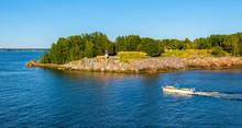 View Of Vallisaari Island Near Helsinki