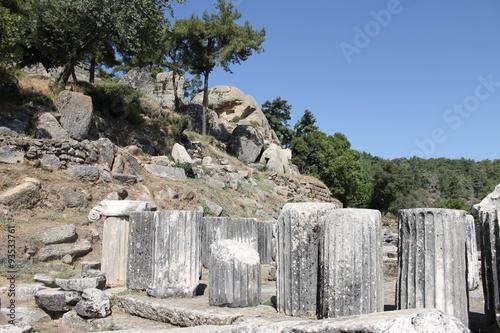 Foto op Aluminium Rudnes Ruins of ancient ancient city of Labranda in Turkey
