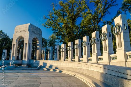 Stampa su Tela  Washington DC - World War II Memorial