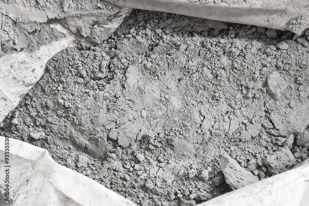 Fototapeta cement powder