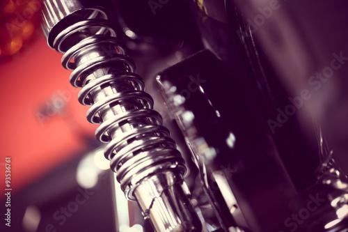 Fotografie, Obraz Motorcycle suspension