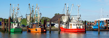 Kutterhafen In Ostfriesland