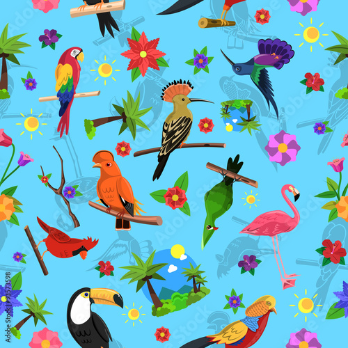 bird-seamless-pattern