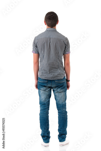 Fotografía Man back view