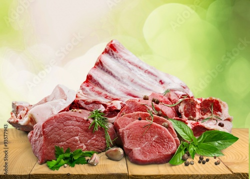 obraz dibond Meat.
