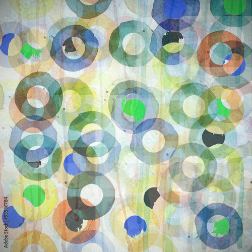 grunge abstract graphic design circles background #93586784