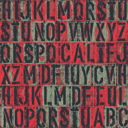 wzor-typografii-tlo-wektor