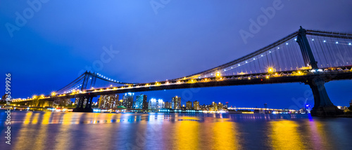NewYork city at Night, New York City, USA