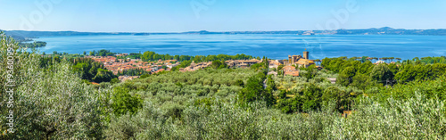 Lake Bolsena, province of Viterbo, Lazio, Italy Wallpaper Mural