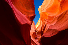 Antelope Canyon, Arizona, Utah, United States Of America