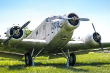 Old Plane Ju B2