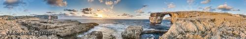 Poster de jardin Europe Méditérranéenne Azure Window in Gozo Island, Malta.