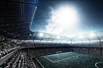 Fototapeta stadion piłkarski abstrakcja