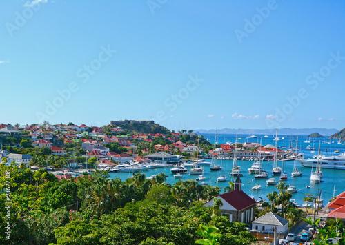 Fotografie, Obraz  Caribbean port of Gustavia, St Barth island
