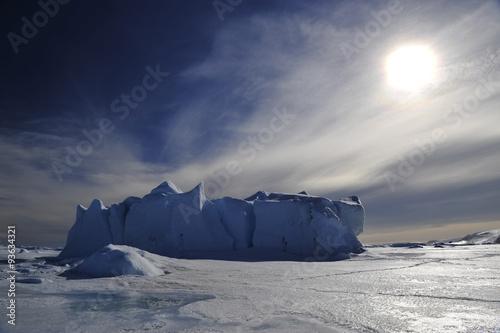 Foto auf Gartenposter Antarktika Icebergs in Antarctica