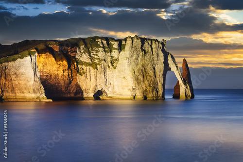 Photo Etretat cliff in normandy