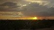 HD Arizona dramatic monsoon sunset in time lapse with storm clouds and rain