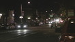 Downtown night traffic time lapse -3