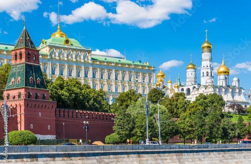 Photo  Moscow Kremlin, Russia