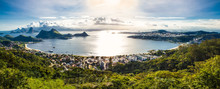View Of Rio De Janeiro And Guanabara Bay From The Cidade Park In