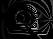 Tunnel Abstrakt. 3D