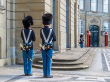 Changing Of The Royal Guard In...