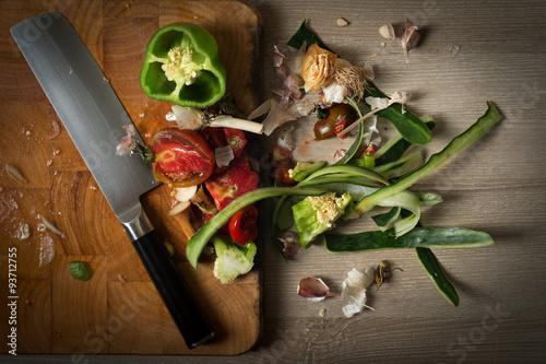 Valokuva  Food leftovers