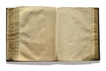 Buch Offen, Leere Seiten