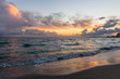 Sunrise. Mediterranean Sea. Spain.