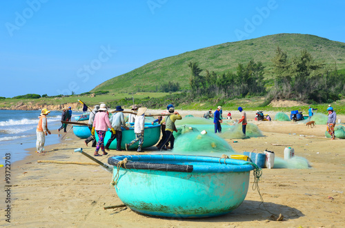 Valokuva  Mui ne fishing village