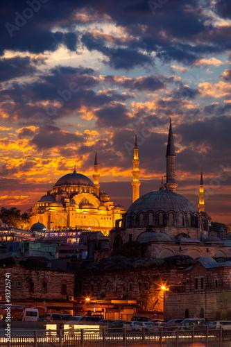 Photo  Suleymaniye Mosque Istanbul
