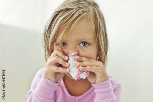 Fotografia  sick child