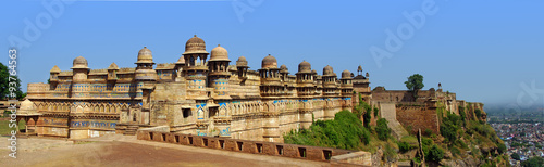 Deurstickers Vestingwerk palais de Man Mandir a Gwalior