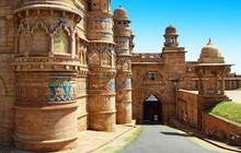 Palais De Man Mandir A Gwalior