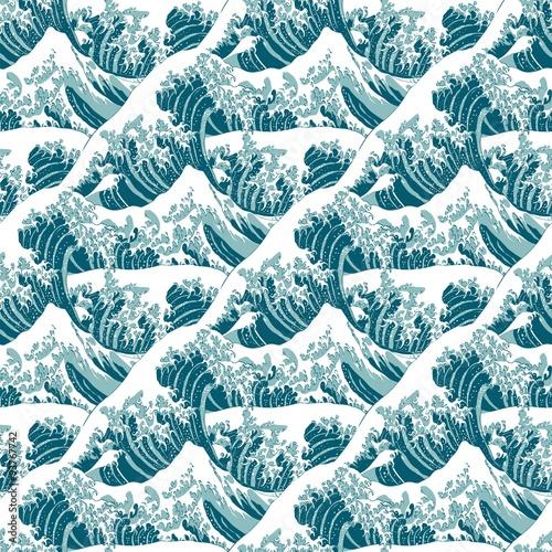 niebiesko-bialy-wzor