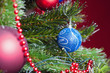 Christmas tree with beautiful decoration ready for xmas holliday