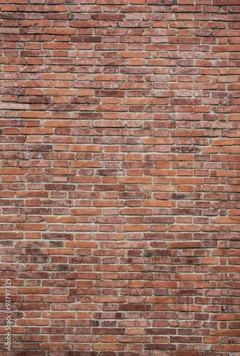Perfect brick wall texture Wallpaper Mural