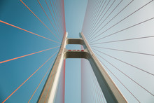 Cable Stayed Bridge Closeup