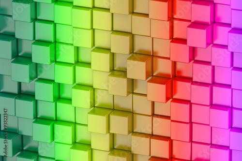abstrakcyjne-kwadraty-trojwymiarowe-w-kolorach-teczy