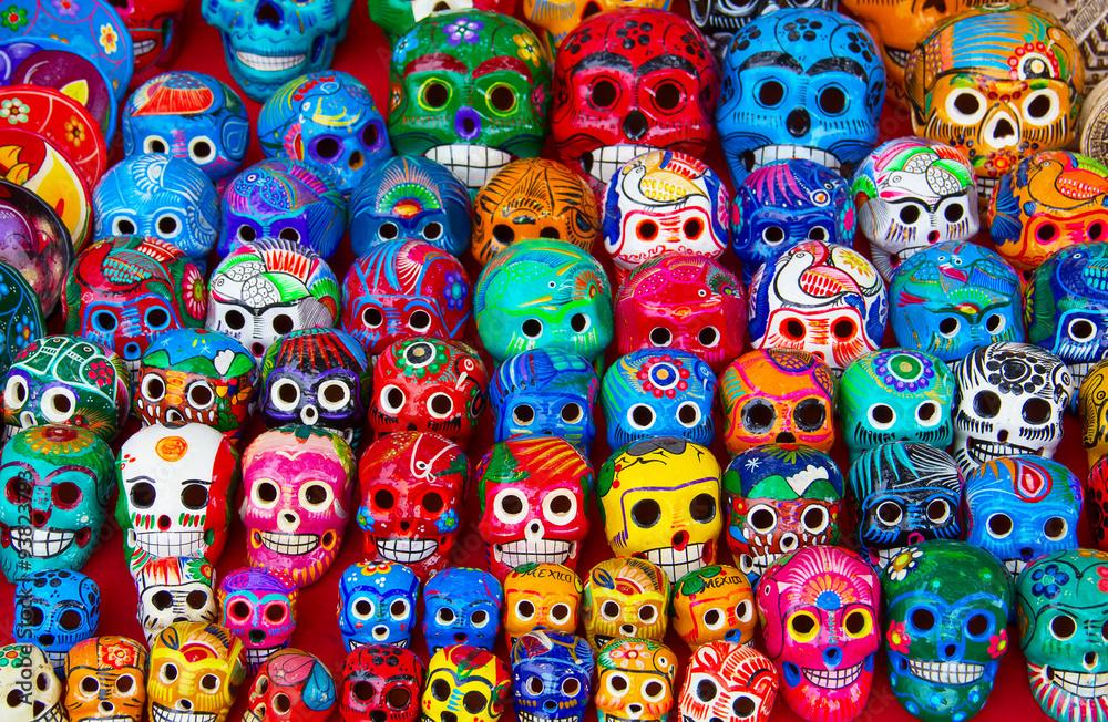 Fototapeta Mexican ceramics