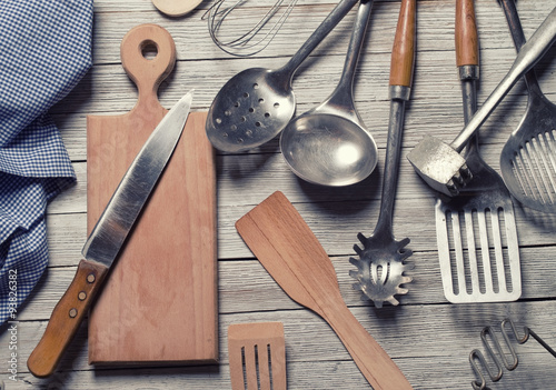 Photo  kitchen utensils