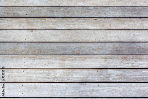 lames de bois, plancher de ponton Canvas Print