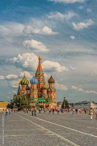 Spoed Foto op Canvas Moskou Vasily Blazhennogo cathedral