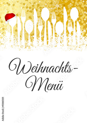 Weihnachtsmenü.Weihnachtsmenü Buy This Stock Vector And Explore Similar Vectors